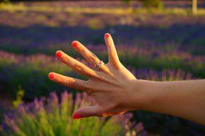 parafina na dłonie
